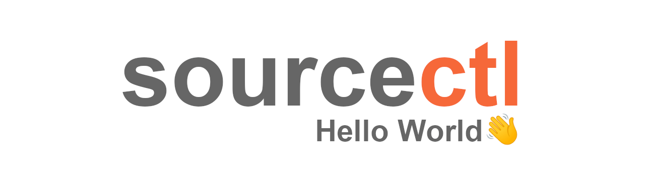 Hello World, my name is sourcectl